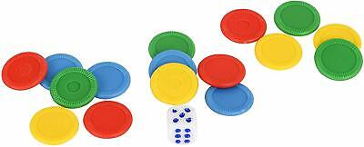 HTI Toys Traditional Games Ludo Family Board Game Set 3