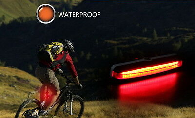 100 Lumens USB Rechargeable COB Bike Front Rear Lights LED Bicycle Riding Lamp 4
