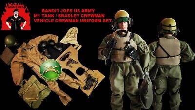 DAM Soldier Story ETC Bandit Joe 1//6 Modern US Army Tanker Nomex Hood