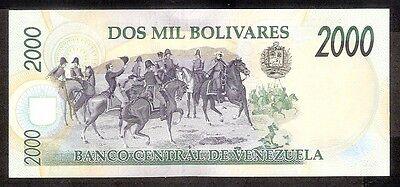VENEZUELA South America 2000 Bolivares UNC 1998 p-77c