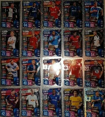 Match Attax Champions League 19 20 limited edition LE15 Sane Club Hero   select 4