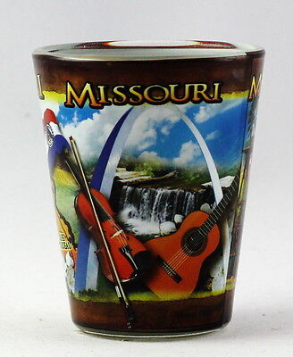 Missouri State Collage Shot Glass Rtp 3