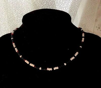 Seed Bead Necklace Choker, The Cobra Choker, Gifts For Her, Short Necklace