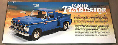 Moebius 1966 Ford F-100 Flareside Pickup 1:25 scale model kit new 1232 2