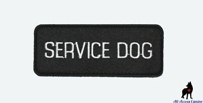 ALL ACCESS CANINE™ Support Animal ESA Dog - Service Dog - Therapy Dog Patches 6