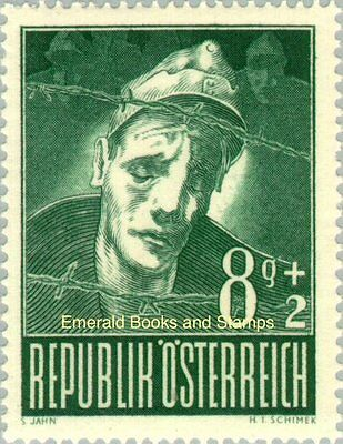 EBS Austria Österreich 1947 Prisoners of War Michel 829-834 MNH**