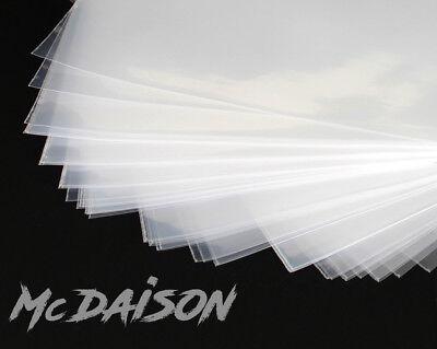 McDAISON 50 BUSTE x DISCHI LP in POLIETILENE vinile DJ QUALITA' TOP! 100 micron 5