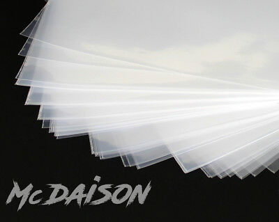 McDAISON - 100 BUSTE per DISCHI LP POLIETILENE 100my esterna trasparente vinile 5