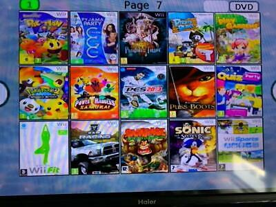 CONSOLE NINTENDO Wii usb loader gx +140GIOCHI +ACCESSORI Just Dance 2020 Mario 8