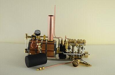 Neue Zwei-Zylinder-Dampfmaschine