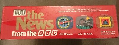 """Vintage New Sealed Board Game """"The News From The BBC""""  Great Games Company 1987 5"""