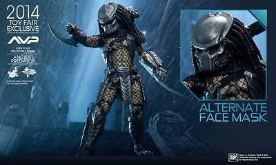 Predator ANCIENT PREDATOR Figure 1//6 NECK WRAP Hot Toys MMS250 Alien vs