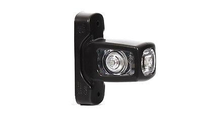 2 x 4 SMD LED Orange Begrenzungsleuchte Seitenleuchte 12V 24V mit E-Pr/üfzeichen Positionsleuchte Auto LKW PKW KFZ Lampe Leuchte Licht Gelb Universal