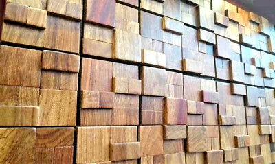 Wood Wall Tiles, Decorative Wall Tiles, Luxurious Wall Decor, 3D Wall Coverings 7