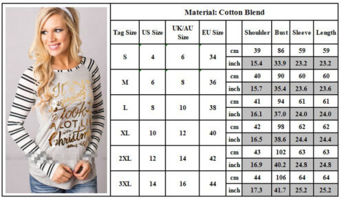 Women Ugly Christmas Xmas Sweater Pullover Jumper Top Sweatshirt Hoodies Blouse 8