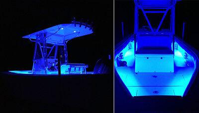 ... 12V LED Boat Lights Strip Blue Waterproof For Boat Deck Interior Lighting 16ft 4 & 12V LED BOAT Lights Strip Blue Waterproof For Boat Deck Interior ...