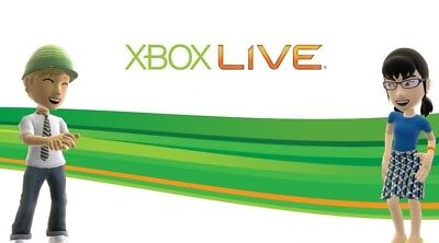 Xbox Live 48 Hour 2 Days Gold Trial Code 48Hr - Instant Dispatch 24/7 5