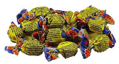 Allens Fantales 1kg bulk lollies yellow blue wrap  candy buffet chewy
