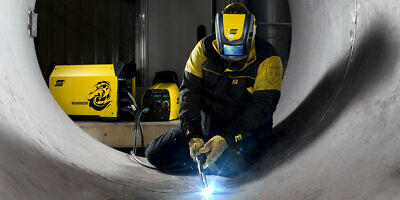 ESAB Aristo Tech HD Welding Helmet with Aristo Air PAPR Unit, TIG, MIG/MAG, MMA 6
