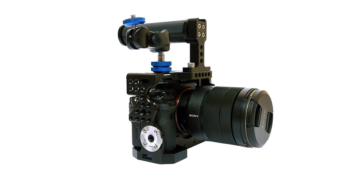 Camgear Cage+Top Handle+Ball Head for Sony Alpha A7II/A7RII/A7SII Camera 5