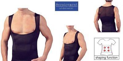 Svenjoyment Mieder Bauch-weg Top Shirt Hemd 2 FARBEN tiefer Schnitt GAY in S-2XL 6