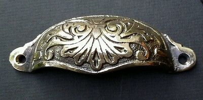 """6 Apothecary Drawer Pull Handles """"polished"""" 4 1/8"""" Antique Victorian Style #A1 6"""