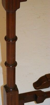 Good Quality Antique Very Unusual Mahogany Tip Up Folding Table 7