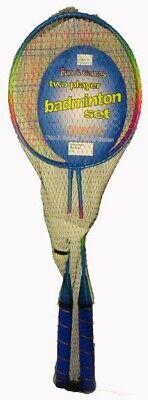 2 Player Badminton Set With Racket Shuttlecock Outdoor Garden Game Family Sports 2
