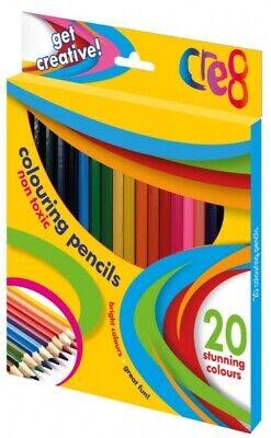 Colouring Pencils Markers Felt Tips Wax Crayons School Stationery Tip Art Assort 2