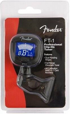 Genuine Fender FT-1 Pro Clip on Tuner - 023-9978-000 4