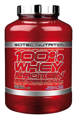 Scitec Nutrition 100 Whey Protein Professional 2350g Eiweiß Shake mit zus. BCAAs 8