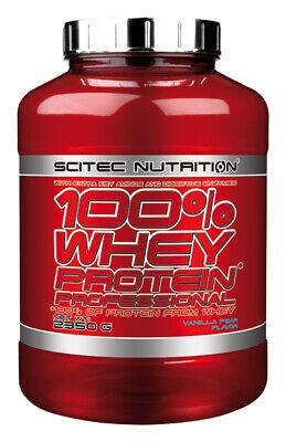 Scitec Nutrition 100 Whey Protein Professional 2350g Eiweiß Shake mit zus. BCAAs 9