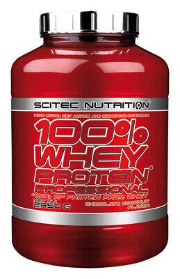 Scitec Nutrition 100 Whey Protein Professional 2350g Eiweiß Shake mit zus. BCAAs 3