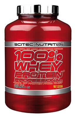 Scitec Nutrition 100 Whey Protein Professional 2350g Eiweiß Shake mit zus. BCAAs 4
