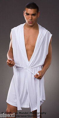 Peignoir Bain Tenue Sexy Pour Homme Man Men Erotique Bath Underwear Uomo 4
