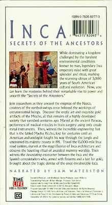 NEW VHS Time-Life Lost Civilizations Inca Nazca Moche Machu Picchu Brain Surgery