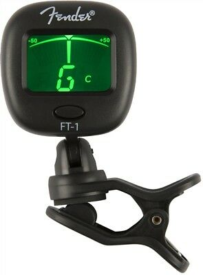 Genuine Fender FT-1 Pro Clip on Tuner - 023-9978-000 5