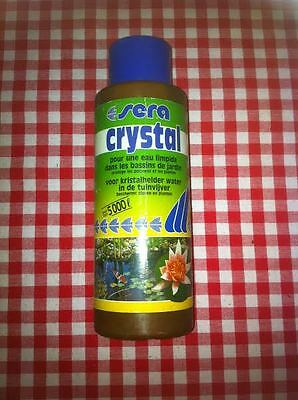 sera crystal 250ml 5000l pour une eau limpide bassin aquarium 2