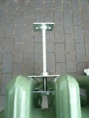Rear Mounted Cast Iron Radiator Wall Stay - Radiators Stays Brackets Ties 7