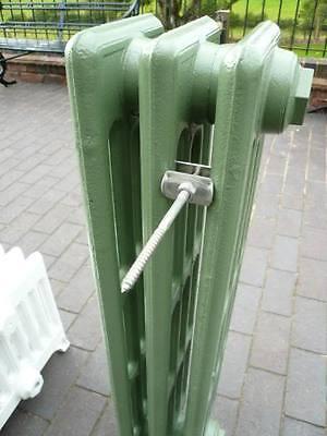 Rear Mounted Cast Iron Radiator Wall Stay - Radiators Stays Brackets Ties