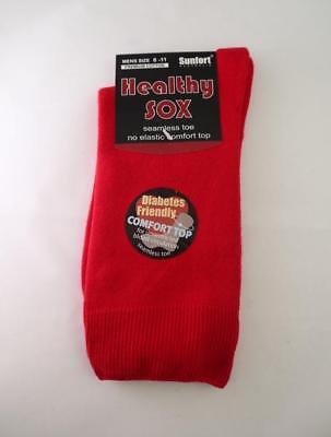 Men's Diabetic Loose Top Medical Circulation Socks Wide Top SEAMLESS SMOOTH TOE 4