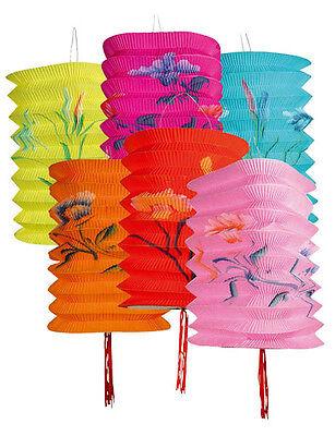 3 Lampions Papier Lanterne Chinoise Decorees Decoration Salle
