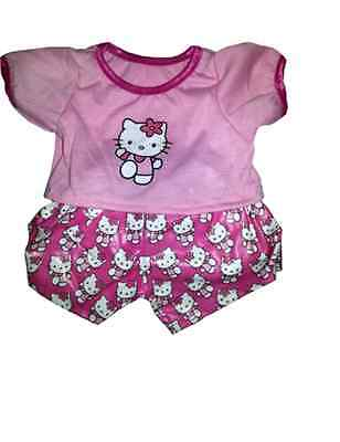 HELLO KITTY PJS pajamas Clothing Outfit Stufflers – Will fit on a Build a bear