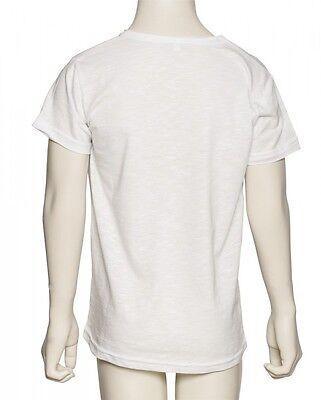 LikeG Donna,bianca Da Ballo E Balletto Nastro T-Shirt Taglia Media 6-8 anni G9 2