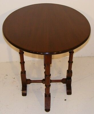 Good Quality Antique Very Unusual Mahogany Tip Up Folding Table 2