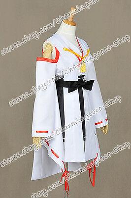 Kantai Collection Cosplay Combined Fleet KanColle Haruna Costume Deluxe Kimono