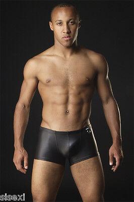 Boxer Slip Anneau Vinyle Sexy Homme Thong Man Underwear Simili Cuir Uomo Mann 2