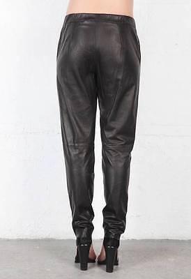 Vince 100/% Lamb Leather Jogging Jogger Track Sweatpants Design Pants~M~NWT~$995