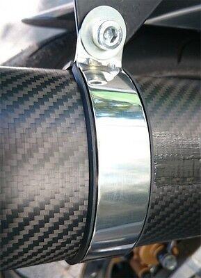Auspuffhalteband Edelstahl/Gummi L: 325 mm
