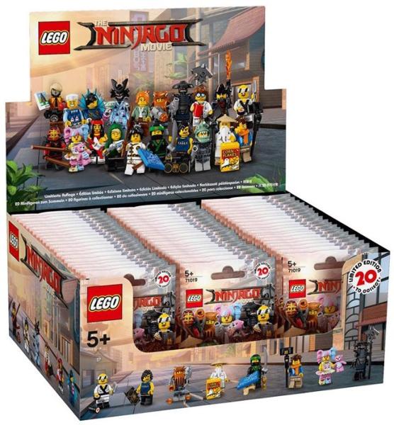 SCEGLI IL TUO PERSONAGGIO LEGO NINJAGO THE MOVIE MINIFIGURES